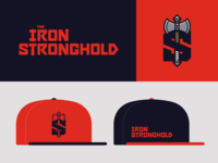 Iron Stronghold gym branding