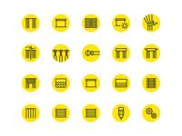 DC+B Icon set