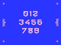 Logic typeface