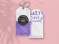 Salty swing tags