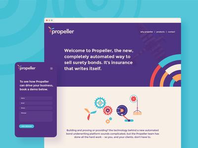 Propeller website