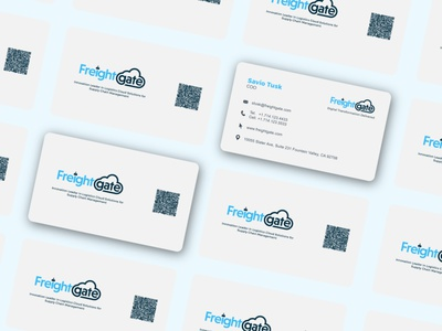 Business Card design for a Supply Chain Management Software business card design adobe illustrator adobe photoshop