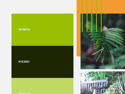 Greener Gardens Landscaping Website Redesign branding landing page adobexd ux designer ui designs logodesign design app adobe illustrator ux design ui design