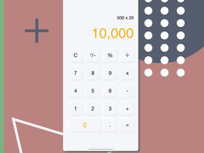 Calculator Design logo landing page adobexd ux designer ui designs logodesign design app adobe illustrator ux design ui design