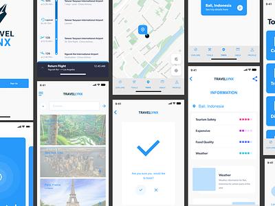 Travel App ux designer design app ui designs