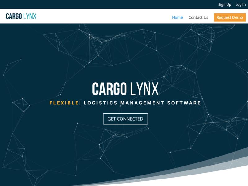 Freight Technology Website Design website design ux design ui design landing page