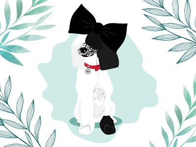 Pooch Perfect dog illustration dog wacom intuos design illustration