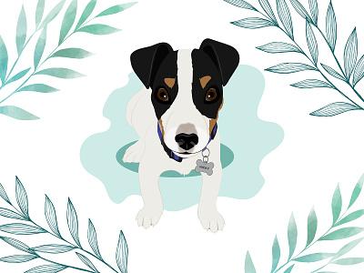 Nicky the Puppy puppy dog illustration dog wacom intuos design illustration