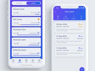 Payroll & HR App Concept dailyui interface design ux ui hr payroll