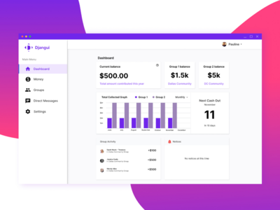 Design a Fintech Dashboard