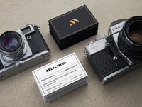 Afzal Miah Photography - Business Cards