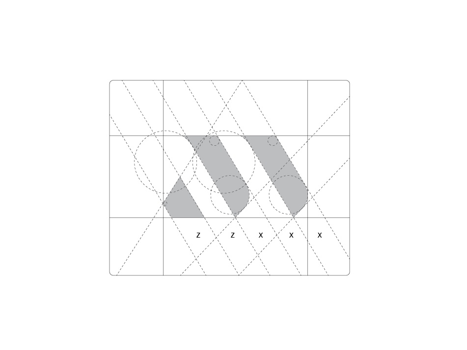 Afzal Miah Photography - Logo Construction flow control lines grid art vector logo a day clean minimal logo illustrator identity icon graphic design flat design branding brand howto contruction