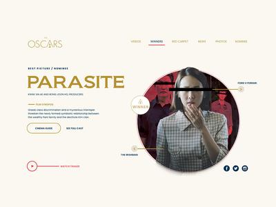 Oscar Website Redesign Concept