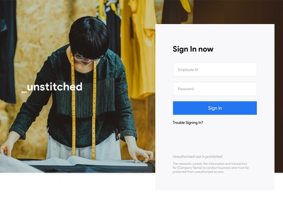 Extranet Landing Page Design login page secure staff organization tailoring clean adobexd dailyui landing page design freebies free ui free extranet download bootstrap landing page adobe xd