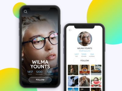 Daily UI Challenge Day006 - User Profile