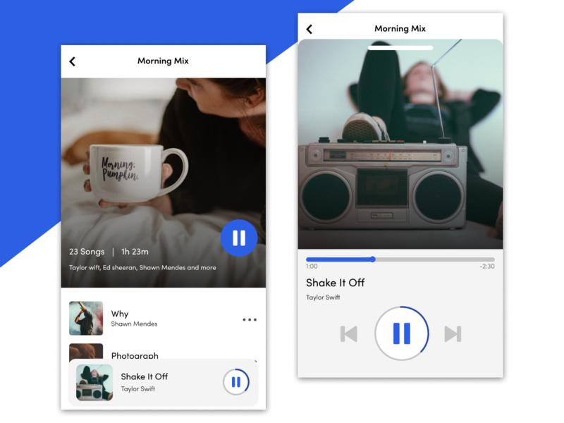 Daily UI #9 - Music Player music player music app mobile app ui design challenge ui challenge ui design uidesign ui