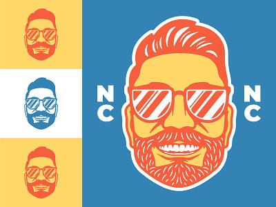 Self Portrait portrait designer bold arizona graphic design logo vector design illustration