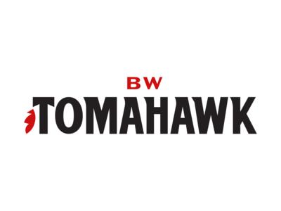 BW Tomahawk Logo branding design brand identity branding typography logo vector design illustration