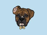 Pup Illustration