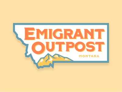 Emigrant Outpost Sticker