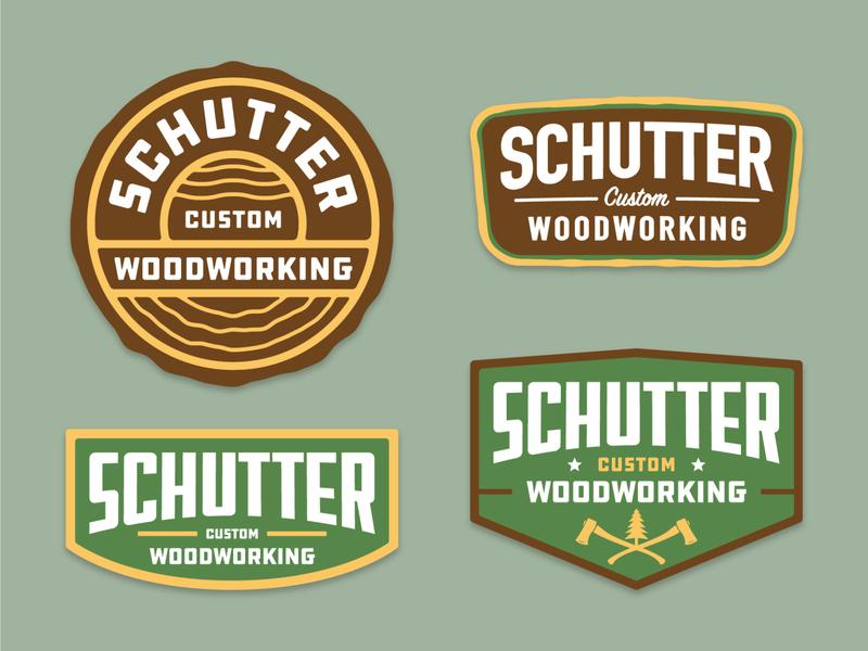 Woodworking Logo branding bold badge arizona graphic design logo vector design illustration
