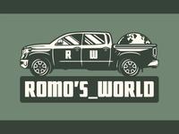 ROMO'S_WORLD Logo