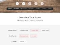 Coworking Space Website - Adding A Space