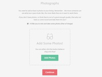 Coworking Space Website - Image Dropper