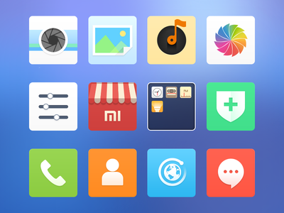 The new icons for MIUI-Part1