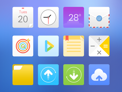 The new icons for MIUI-Part2