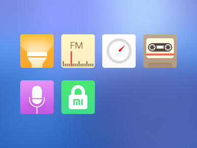 The new icons for MIUI-Part3