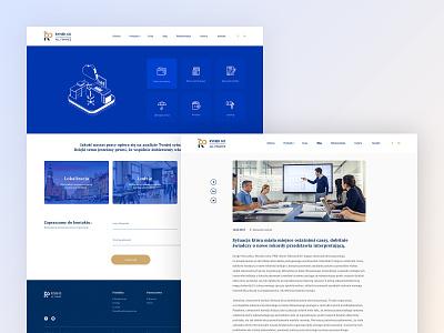 Rynek 60 | All Finance webdesign layout web design website ux ui www branding tyshchenko