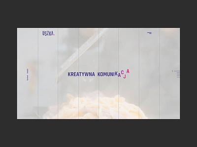 Uszka | Creative Communication Agency company warsaw layout agency web website design branding www ux ui yobko vanwalko tyshchenko
