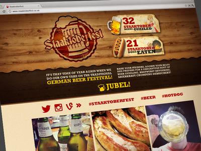Staaktoberfest Webpage