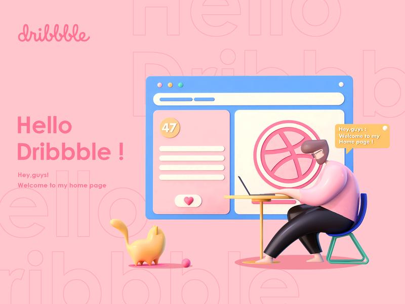 Hello,dribbble!