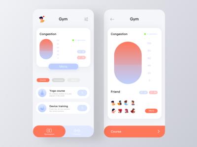 Gym concept app