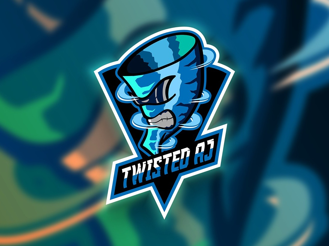 Twisted AJ Premium Gaming Mascot vector gamer esportsdaily esports esportslife esportsarena esportlogo illustration branding
