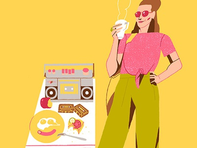 X Generation Girls - Cassetes & Breakfast