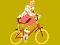 X Generation Girls - Biker and chewing gum