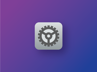 DailyUI 005 - Settings icon for iOS