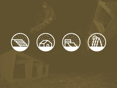 Where to Snowskate Icons