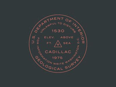 Cadillac Mountain Survey Marker mountian cadillac acadia type hike national park national parks centennial geological survey termina