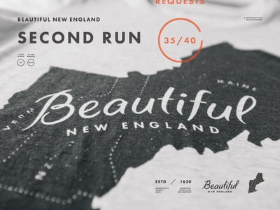 Second Run of Beautiful New England