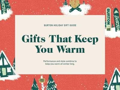 Burton Gift Guide Assets pressura caslon holiday christmas wrapping paper typography type