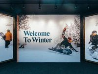 Burton Welcome To Winter Mural