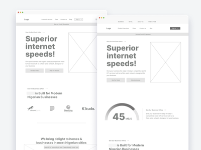 Wireframes for a Web design project vector illustration branding isometric design design thinking design system uxdesign design low fidelity wireframe wireframes
