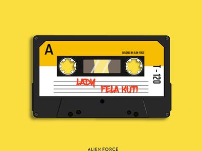 mixtape illustration