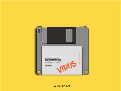 Floppy disk illustration