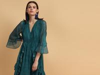 Darcy A-Symmetric Dress