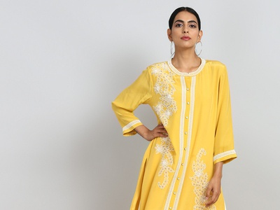Sun Melon Coloured Tunic